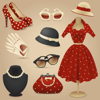 accessoires vintage sac et mode blog mode