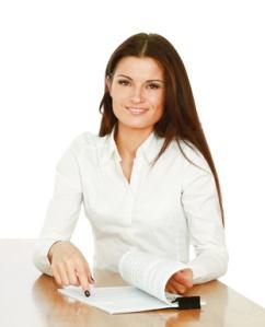 Chemise blanche porté par une femme