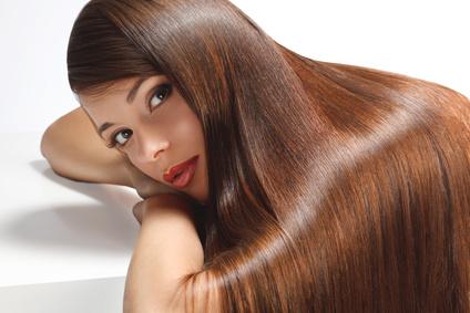 cheveux sains et brillants