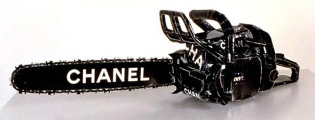 Chanel Chain Saw , Tom Sachs, 1996