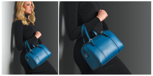 Un très joli sac! Coup de <3 pour la couleur!