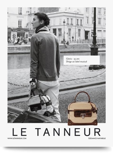 """Très jolie campagne qui retranscrit à merveille l'esprit Le Tanneur """"l'élégance naturelle"""""""
