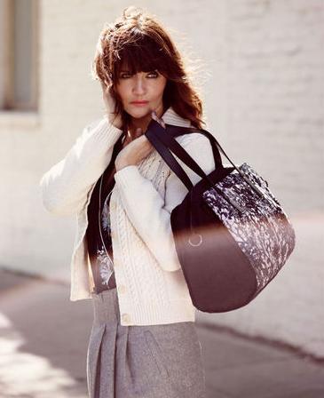 La sublime  Helena Christensen , nouvelle égérie de la marque