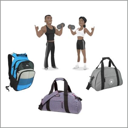 un sac pour le sport